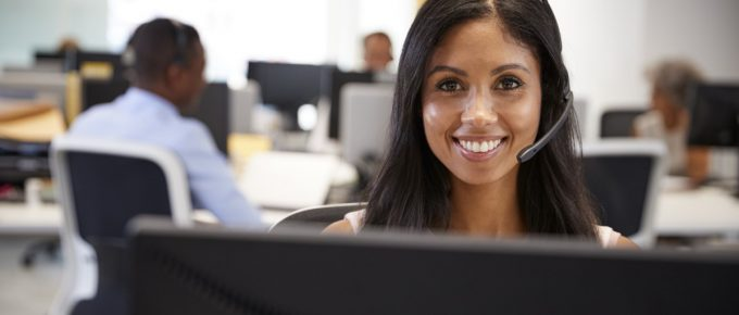 A female customer service representative is ready to answer your e-filing questions.